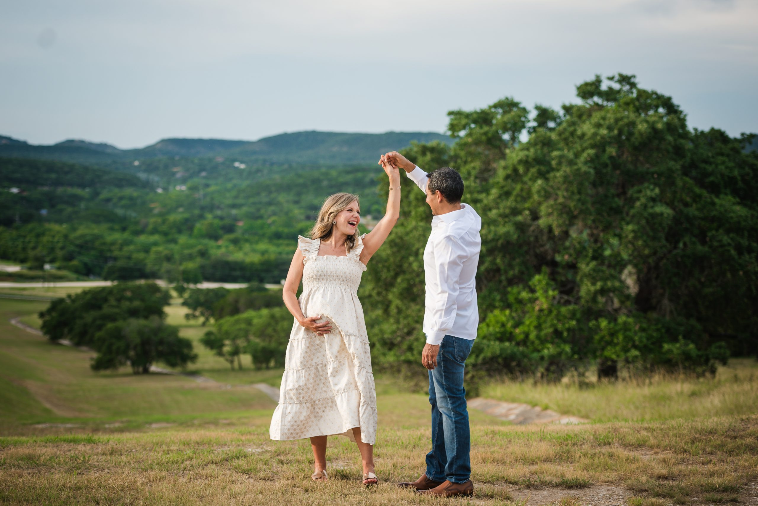 Maternity Photography Session At Canyon Lake, Texas In July Gruene Photography 18