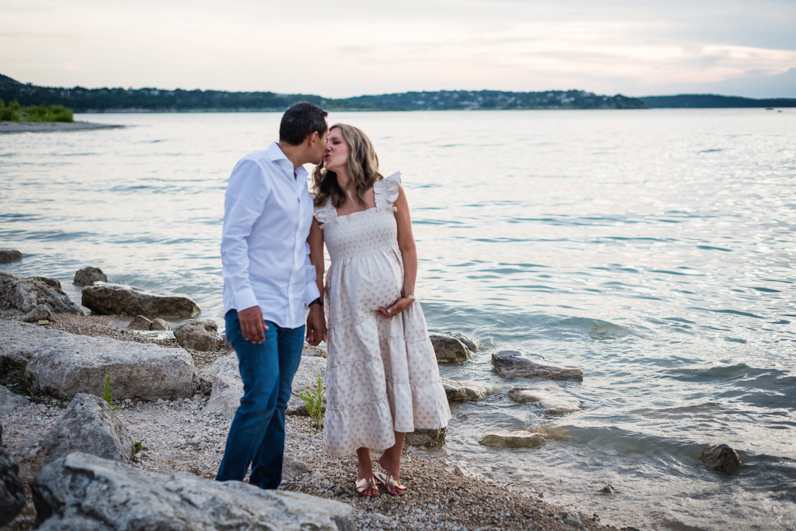 Maternity Photography Session At Canyon Lake, Texas In July Gruene Photography 35